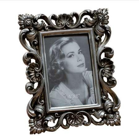 Retro Vintage Rose Luxury Resin Photo Frame Picture Frame Home Decor 4'' x 6''