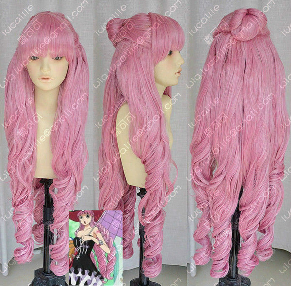 After Bang Road / Peiluo Na / Perona Two Years Slightly Curled Wig Cosplay Party>>>Free Shipping wig
