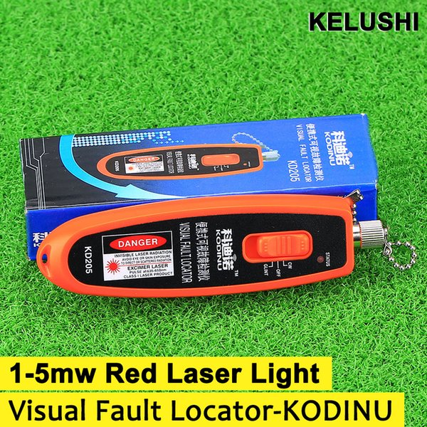 Wholesale price 1mw Red Laser Light Fiber Optic Cable Tester Visual Fault Locator also 1-5KM Checker
