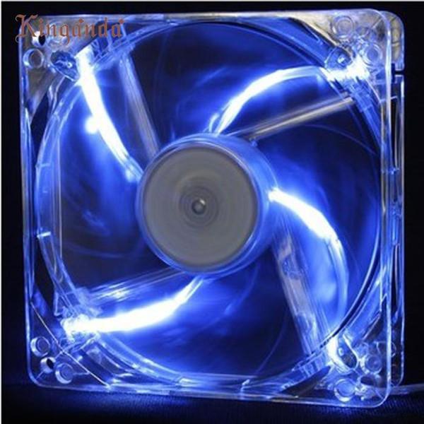 Gute sale12cmx12cmx2.5cm Neue 12025 2Pin 12 V Computer PC CPU Stillen Kühlgehäuse Fan Kostenloser versand Dezember 19