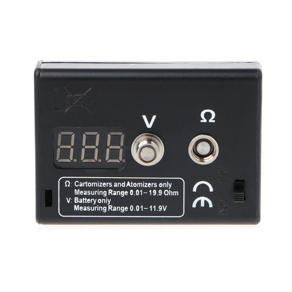 LED Display Atomizer Ohm Reader Resistance Tester For EGO Electronic Cigarette