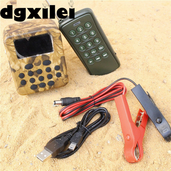 50W 100m Remote Control Electronics Hunting Mp3 Bird Caller Sounds Player Hunting Decoy &Timer On/Off