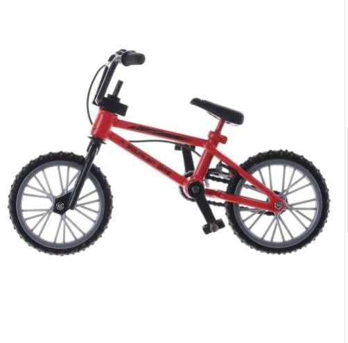 3 Colors Mountain Bicycle Finger Scooter Toy Creative Game Suit Children Grownup Cute Mini Finger Bmx Toys High Quality Vivid
