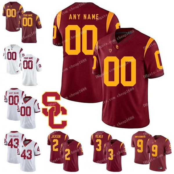best sneakers 5b197 ff546 2019 NCAA USC Trojans 40 Chase McGrath 49 Michael Brown 10 Jack Sears 15  Nelson Agholor Red White Stitched College Football Jerseys From Cheap1688,  ...