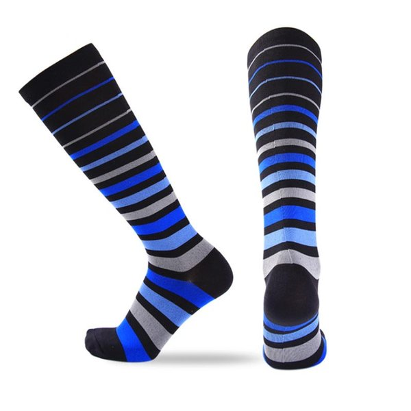blue gray wide stripes