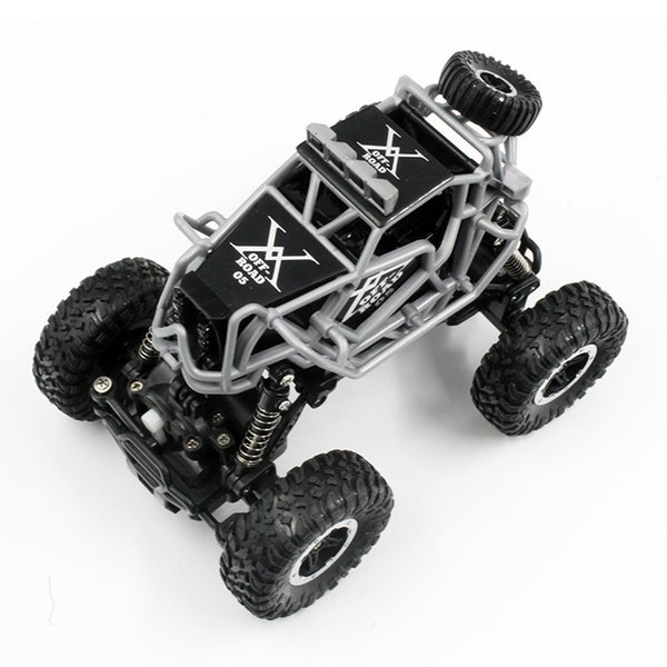 Cross-boundary 1:43 mini climbing vehicle 2.4 G four-wheel drive off-road remote control 1 rechargeable model toy car