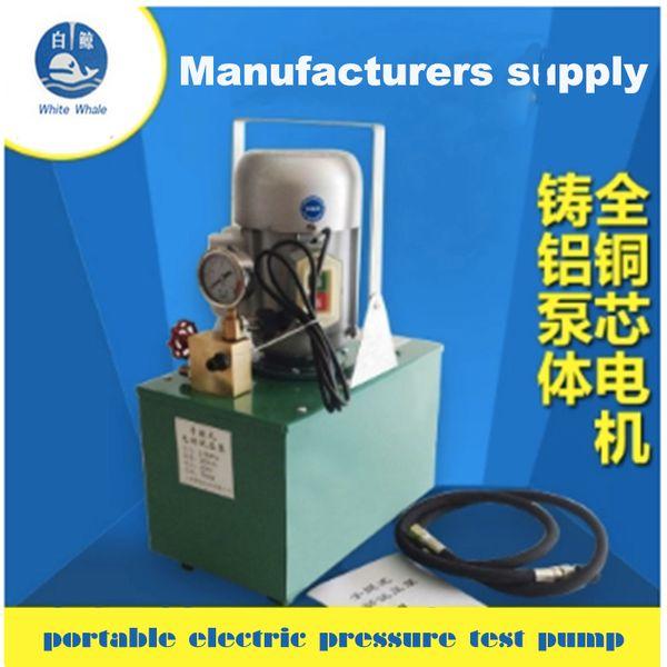 The Whole Set Pressure Test Pump Pipe Pressure Test Pump DSY-6.0 360l/h 0.75kw