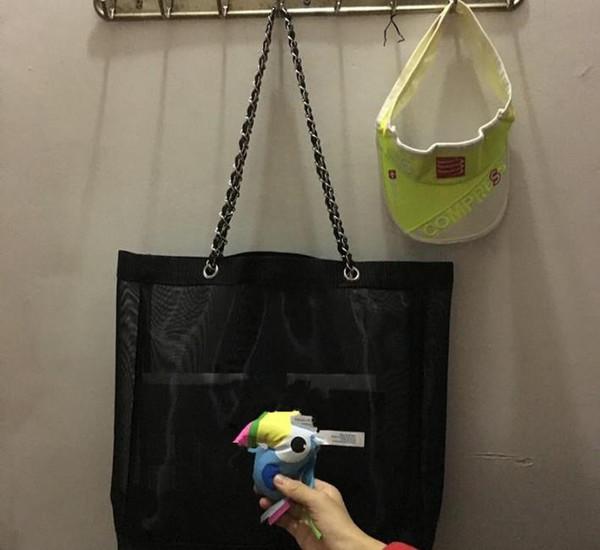 New Classic logo bianco shopping chain chain Bag modello di lusso Borsa da viaggio Borsa da donna Borsa cosmetica per trucco