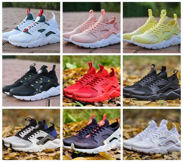 269ab90a6019 New 2018 Air Huarache 4 IV Ultra Running Shoes for Men Women All Red  Huraches Huaraches Mens Trainers Hurache Sports Sneakers 36-45