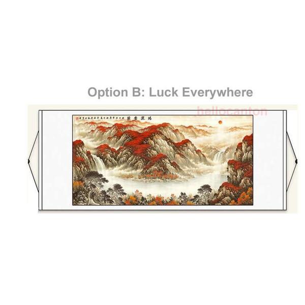 Ev Dekorasyonu için Feng Shui Boyama Çin Resimleri Yatak Odası Dekorasyon Çok Stilleri Geleneksel Çin Çizimleri Resimleri Feng Shui Yapıt