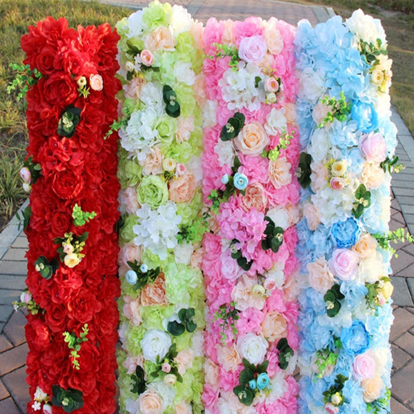 2019 New Arrival Elegant Artificial Flower Rows Wedding Centerpieces Road Cited Flower Table Runner Decoration Supplies From Jackylucy 9 05
