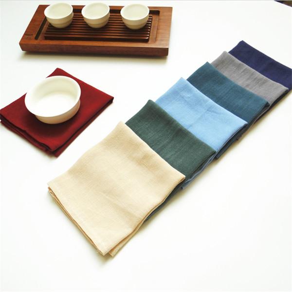 top popular factory price factory price 3042cm wedding napkins cloth napkins fabric table napkins free 2021