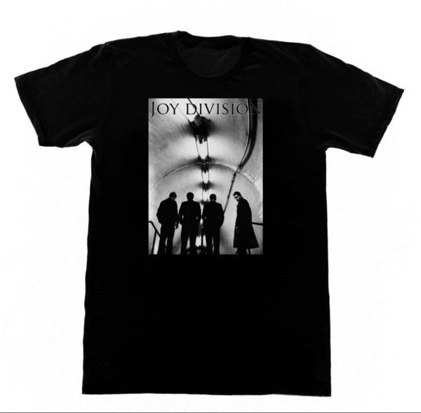 Joy Division Subway Tshirt 232 Chemise Vintage Goth Punk Rock Gothique Poussin Manches Courtes Imprimé Tee Taille S-3Xl