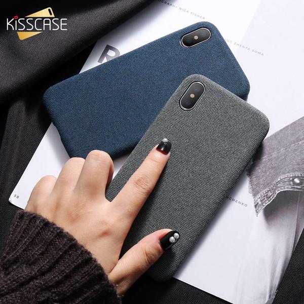 Pano modelado case para iphone x 10 simples caso de negócios do vintage para o iphone x 6 s 7 8 plus moda