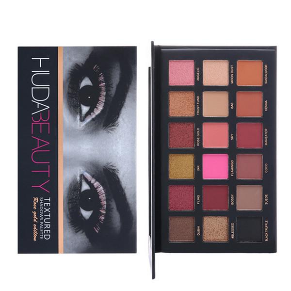 Hochwertige 18 Farben Lidschatten-palette Schimmer Matte Pigment Lidschatten Kosmetik Charming Augen Make-Up Kostenloser Versand