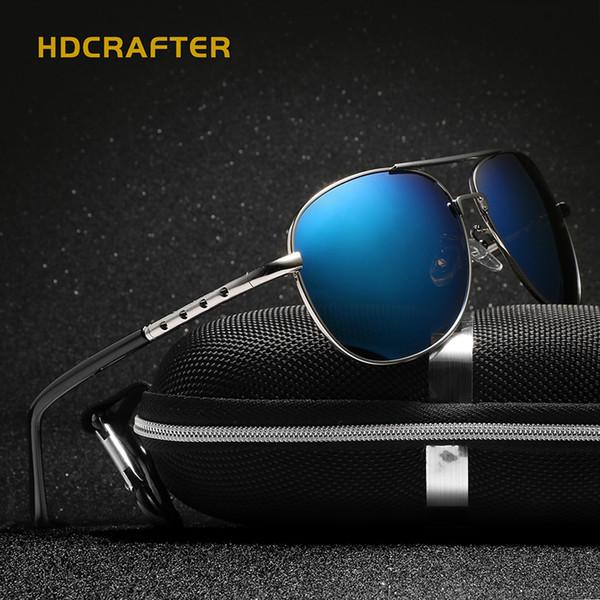 Hot Brand Designer Sunglasses for Men 2017 Aluminum Magnesium Polarized Sun Glasses for Driving Sunglasses Male Summer Eyewear