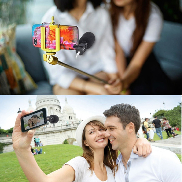Microphone for iPhone Smartphone ,Ulanzi Comica Directional Recording Mic for HuaWei Smart Phone YouTube Video Vlogging