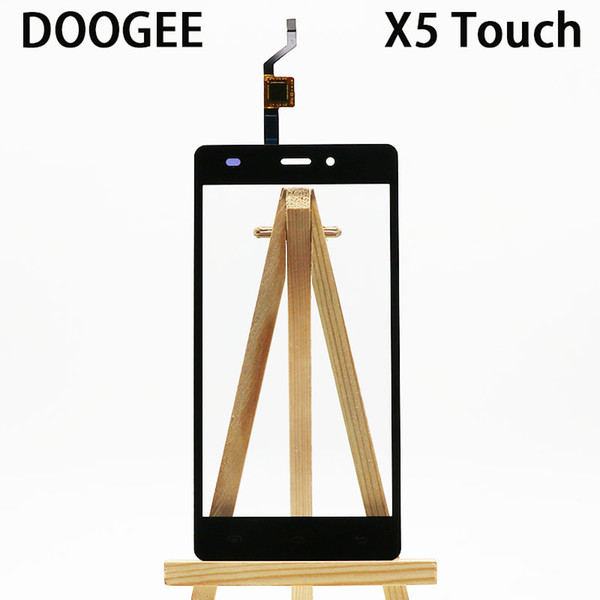For DOOGEE X5 /X5 Pro touch screen New Original Leo Digitizer Outer Glass Panel Replacement mobile phone repair accessories