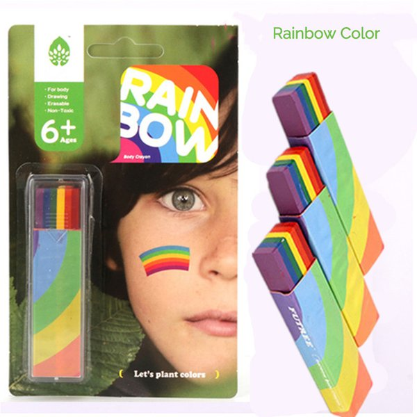 Body Painting Uv Body Art Painting Makeup Paint Rainbow Art Tattoo Paint For The Face Paint Colored Child Kids Pen Cheap Makeup Brush Sets Eye Makeup