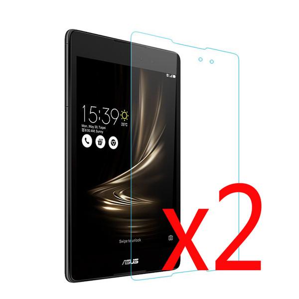 2x Clear Films + 2x Tuch, Kleinpaket LCD Screen Protector Schutzfolie Für Asus ZenPad 3 8.0 Z581KL Z581 8