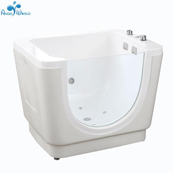 Wholesale de la venta de China Eco-Friendly * 870 * 900 mm de spa bañeras de hidromasaje bañera bebé acrílico independiente 1130 para los niños