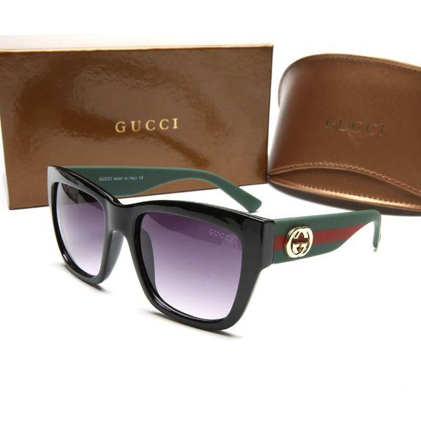 luxury brand sunglasses round mens womens sun glasses prescription 2018 block sunrays uv400 protection