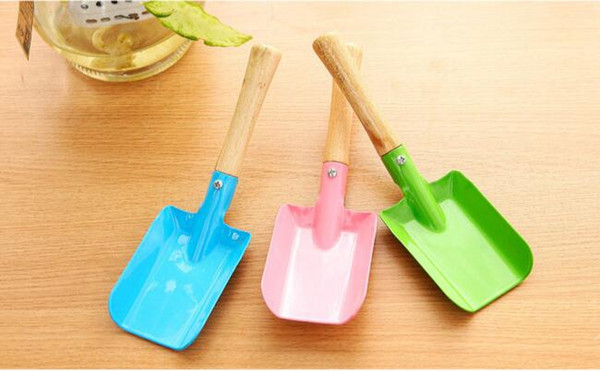 Mini Gardening Shovel Colorful Metal Small Shovel Garden Spade Hardware Tools Digging Garden Tools Kids Spade Tool