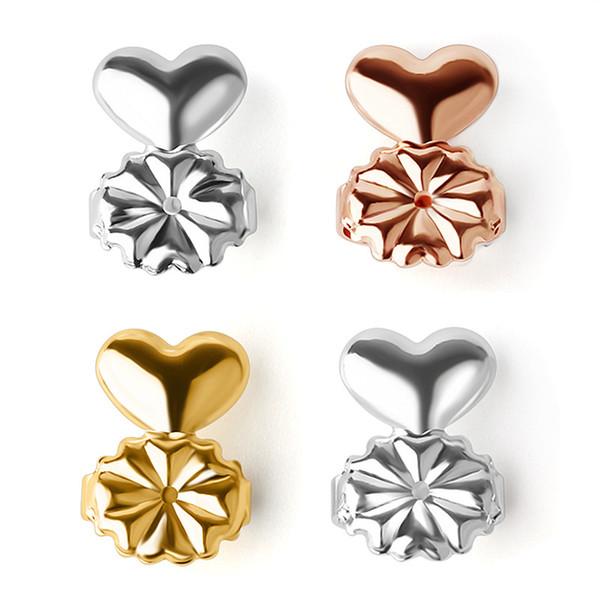 best selling Earrings Lifters Gold Silver Color magic bax Earring Backs Support Hypoallergenic Fits All Post magic bax earring lifters Earrings Backs