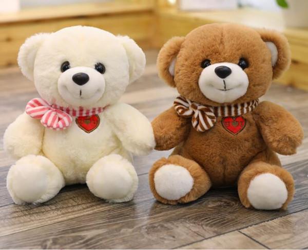 Cartoon Teddy Bear Plush Toys Stuffed Plush Animals Bear Doll Birthday Gift For Children