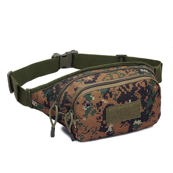 Nuovo 800D Oxford Camouflage Multical Tactical Marsupio Outdoor Marsupio Uomo Cintura Borsa Sacchetto Escursionismo Arrampicata Bumbag