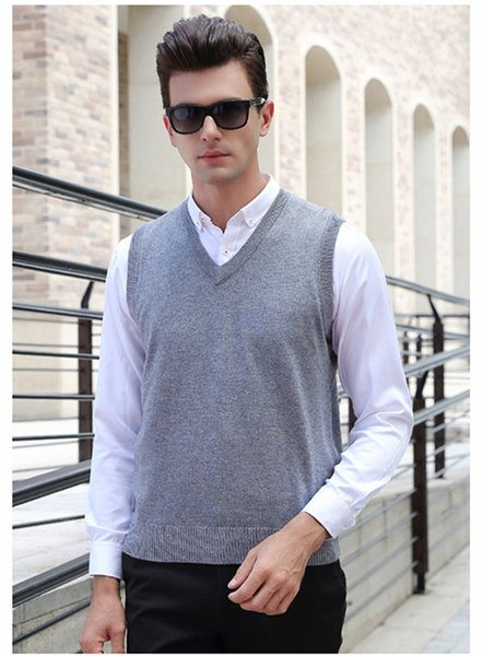 New Small Horse Mens Sweaters Vest V-Neck Jersey Hombre Jumper Ralphmen Pullover Cashmere Sleeveless Brand Clothing Polo Shirt Solid Color