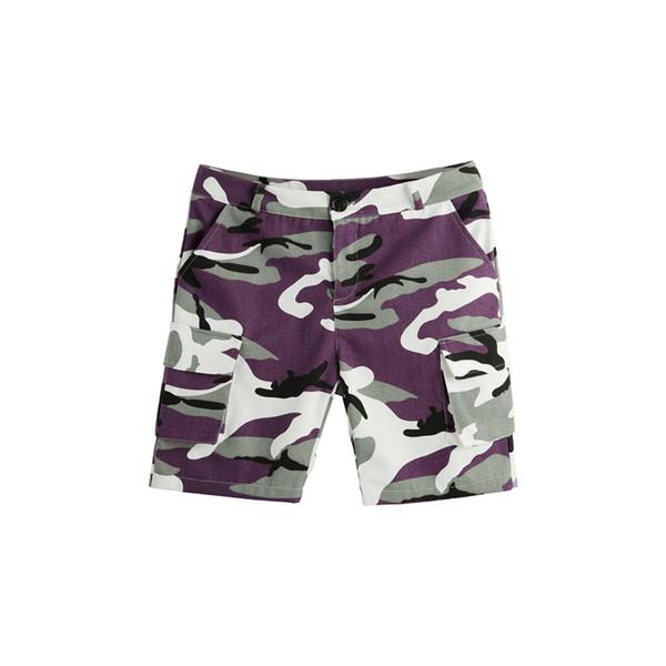 Cool casual verão 2018 mulheres Slim Fit camuflagem calções Ladies girls pocket Mini calções macacão de carga Combate