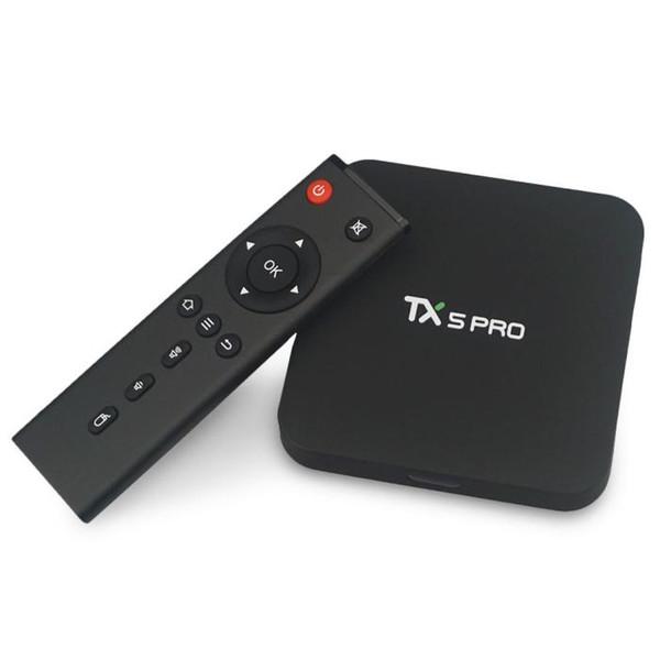 KAKADTV iptv box TX5 pro 2+16GB Android TV with Africa IPTV ARABIC Turkish France UK USA IPTV box h.265 4k Video