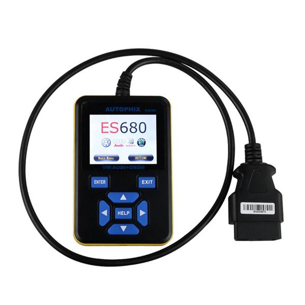 Autophix ES680 VAG Pro OBD2 EOBD Code Reader Diagnostic Scanner and SRS ABS Scan Tools for VW/Audi Series Vehicles