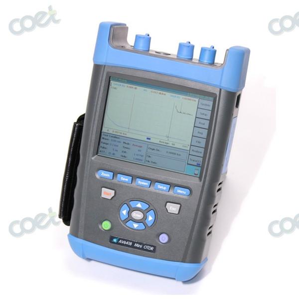 CETC AV6418 1310/1550nm 45/43dB GPON OTDR Tester Fiber Optic FTTX OTDR with Power Meter and VFL