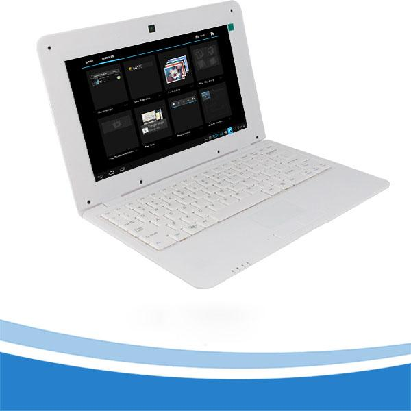 best selling 10inch Laptop computer 1G+16G ultra thin fashionable style Notebook PC professional manufacturer