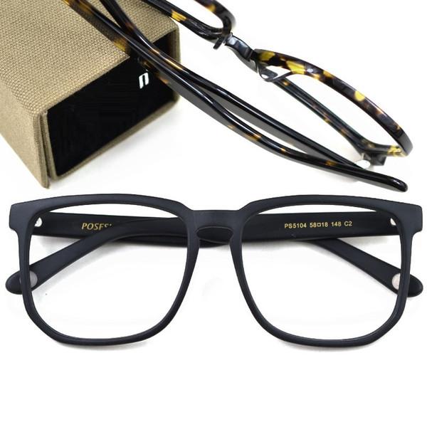Vazrobe 148mm Boy Ahşap Tahıl Asetat Gözlük Erkekler Kadınlar Gözlük Çerçeveleri Adam Kadın Büyük Reçete Gözlük Miyopi