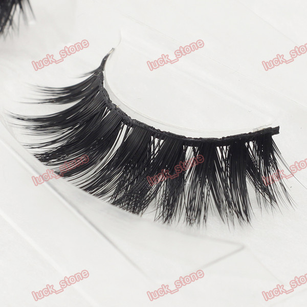 25 model super thick ,special Stage design 3D MINK hair false eyelashes 1 pair in hard plastic case factory supply no logo