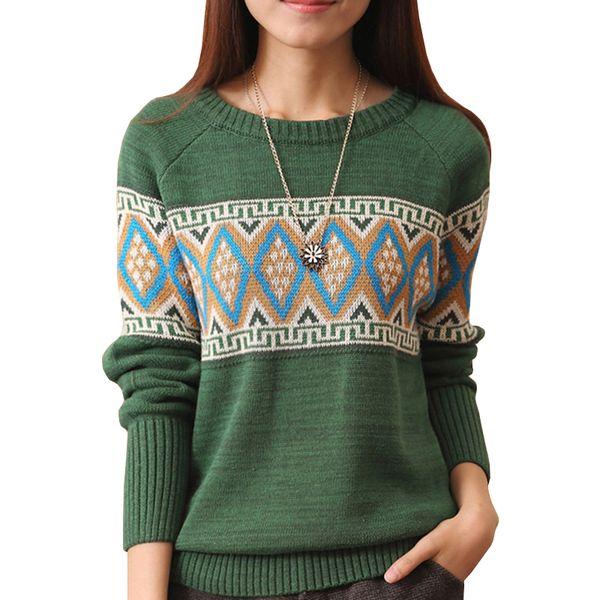 Female Loose Sweater Women Hedging Korean Fall Winter New Autumn Jumper Round Neck Bottoming Student Pullover Vestidos LXJ183