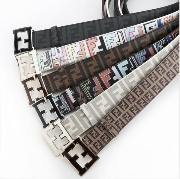 2018 hot sale brand men Belt Man Double Ring Buckle Thicken Canvas Belts for Men Waistband nine colors