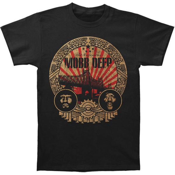 Limited Edition Mobb Deep Men's Men In Crest T-shirt Size S-2XL