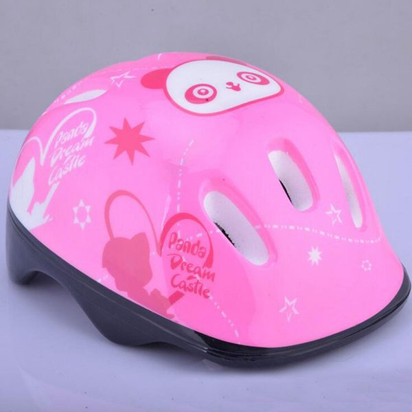 Baby Safety Helmet Panda Pattern Protective Helmet for Walking Kids Bicycle Bike Cycling Scooter Skateboard Protection Hats