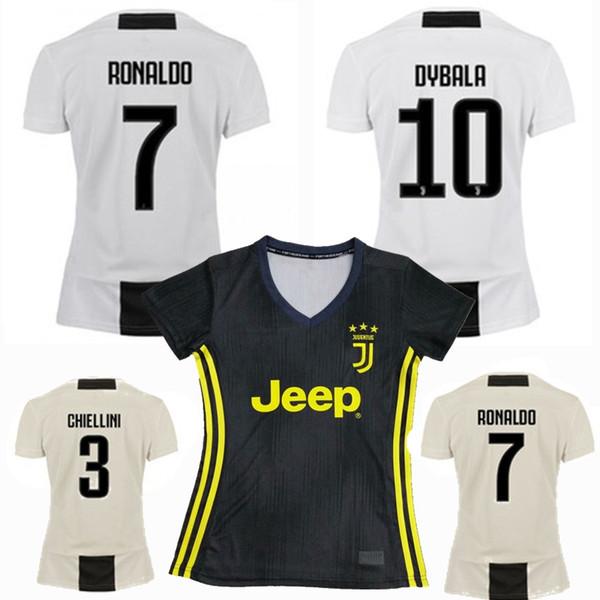 10febfdaa 2018 2019 Juventus women RONALDO Soccer Jersey 18 19 DYBALA PJANIC KHEDIRA  D. COSTA BERNARDESCHI