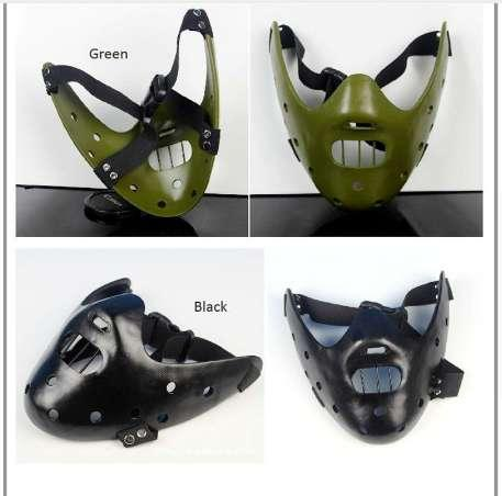 The Silence of the Lambs mask Hannibal Lecter Film prop Cosplay Halloween party