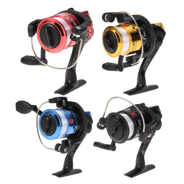 Fishing Reals Aluminum Body Spinning Reel High Speed G-Ratio 5.2:1 Fishing Reels with Line Copper rod rack drive Fish Tools EA14 Y1890402