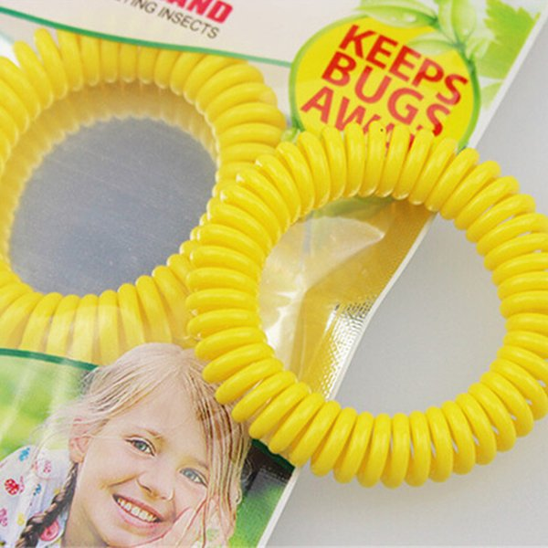 top popular Anti- Mosquito Repellent Bracelet Anti Mosquito Bug Pest Repel Wrist Band Bracelet Insect Repellent Mozzie Keep Bugs Away Mixed Color 500pcs 2019