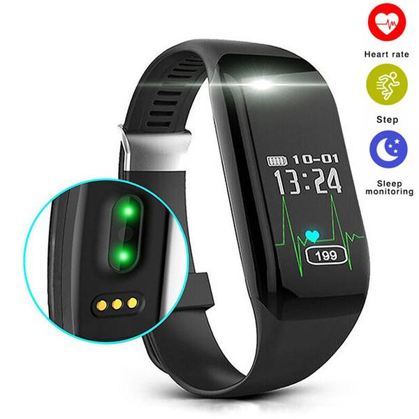 Yeni H3 Akıllı Bant Nabız Smartband Uyku Spor Tracker Bilezik Pedometre Çalar Saat Akıllı Bileklik