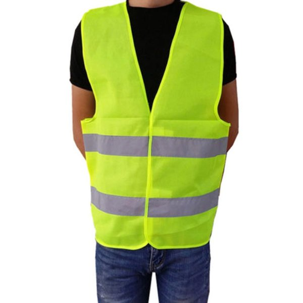 Outdoor Safety High Visibility Reflective Fluorescent Vest Sport Clothing Running Race Vest