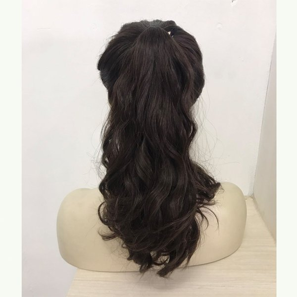 Wonder wig , 100% european virgin hair sports bandfall , Pony wig , unprocess hair (kosher Wig ) free shipping