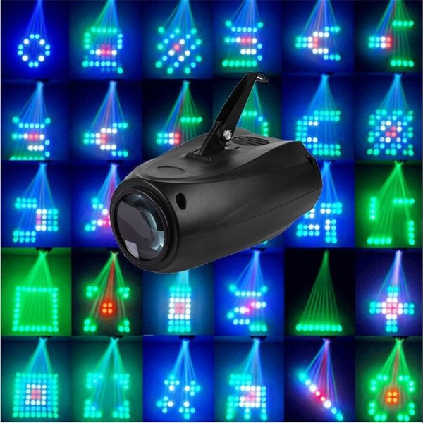 Details about Stage Laser Light Party Pub Lamp Airship Disco Lighting Lights DJ 64 LED RGBW